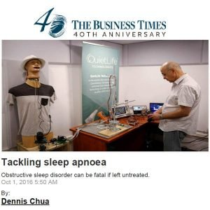 Tackling Sleep Apnoea Article