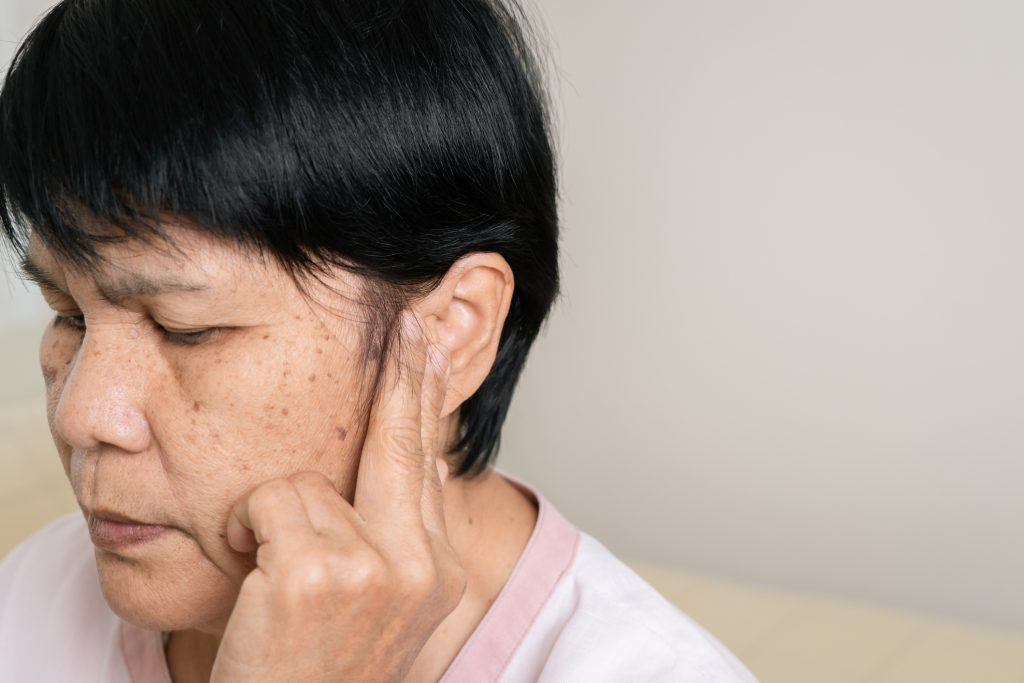 Hearing loss due to old age